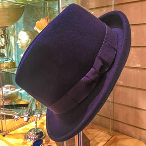 Trilby Hat Navy Blue - M