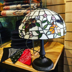 Butterfly Tiffany Small Lamp