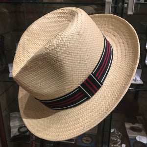 Straw Summer Fedora Hat