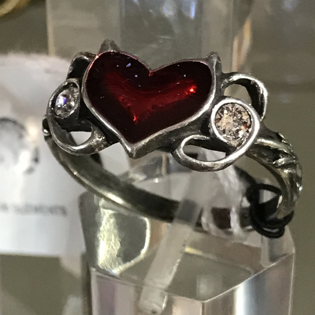 Devil's Heart ring