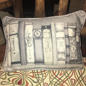 The Library Mini Scatter Cushion