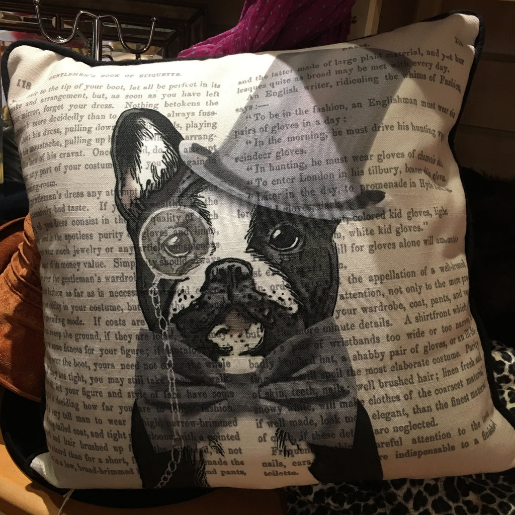 French Bulldog Cushion