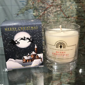 Scented Christmas Candle Jar