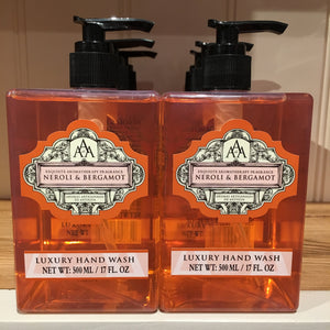 AAA Aroma Neroli and Bergamot 500ml Hand Wash
