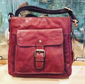 Scottish Leather Crossbody Bag