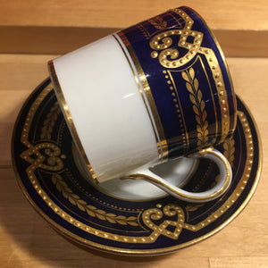 Antique Coffee Can and Saucer