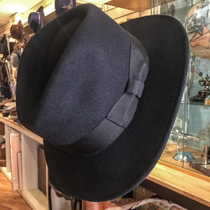 Crushable Fedora Hat - Black