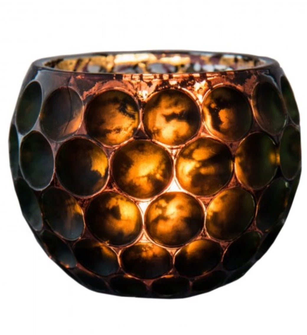 Seaphina votive bronze with silver inner