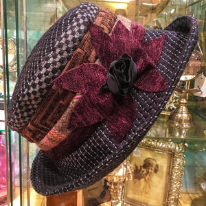 Clare Vintage Tapestry Cloche Hat