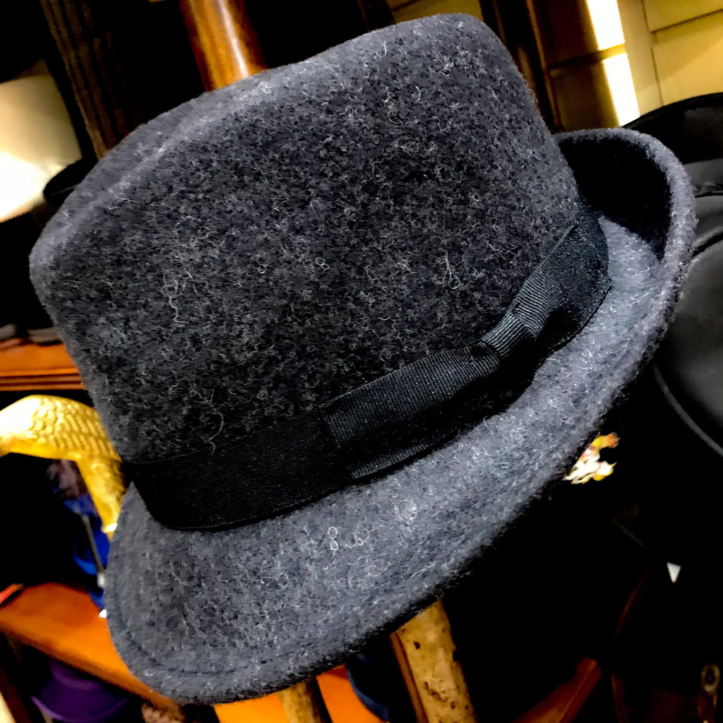 Trilby Crushable Dark Grey Mix