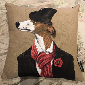 Two Gentlemen Dog Cushion