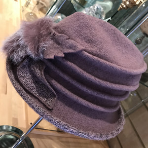 Felicity Wool Cloche Hat