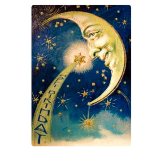 Birthday Card - The Moon and The Star