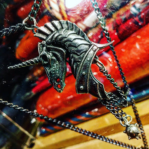 Geistalon Undead Unicorn Necklace