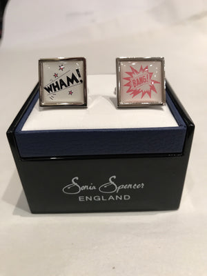 Wham! Bang! Cufflinks