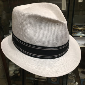 Straw White Trilby