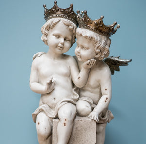Figurine of a Pair of Angels