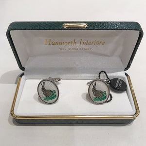 Hare Country Cufflinks