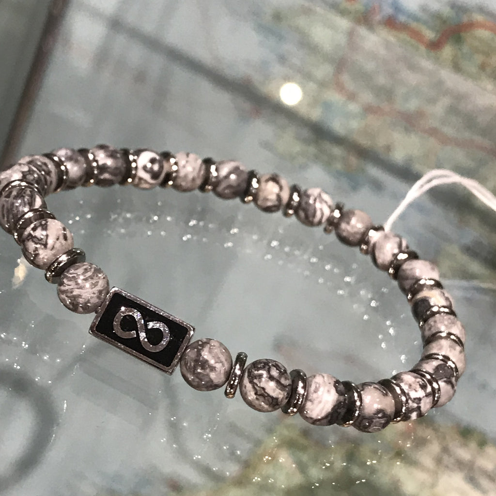 Bracelet: Small Beads With Charm