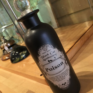 Black Magic Potion Bottle 23cm