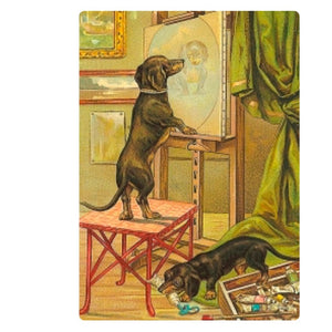 Card - Portrait of a Dachshund