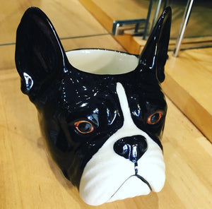 Egg Cup - French Bulldog