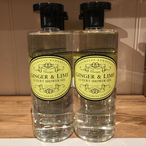 Naturally European Ginger and Lime Luxury Shower Gel 500ml