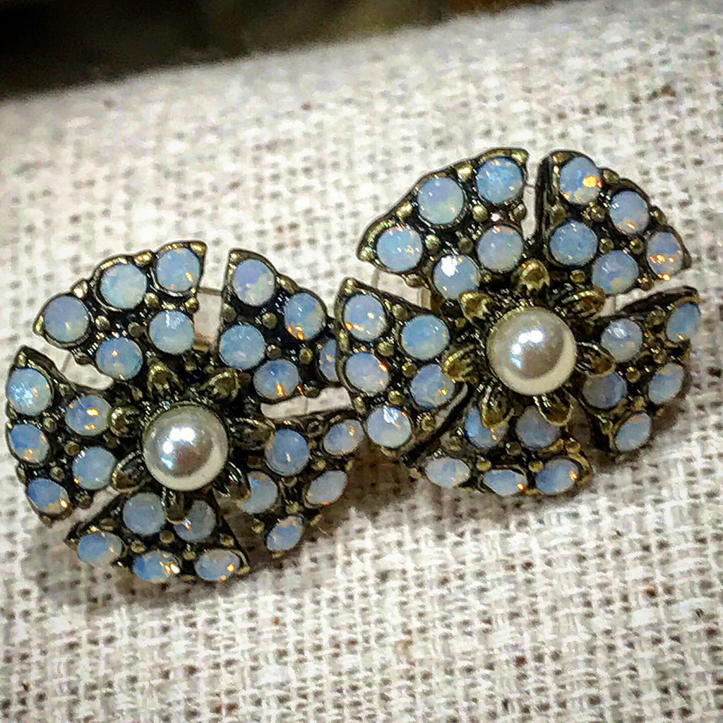 Miriam Haskell stud earrings