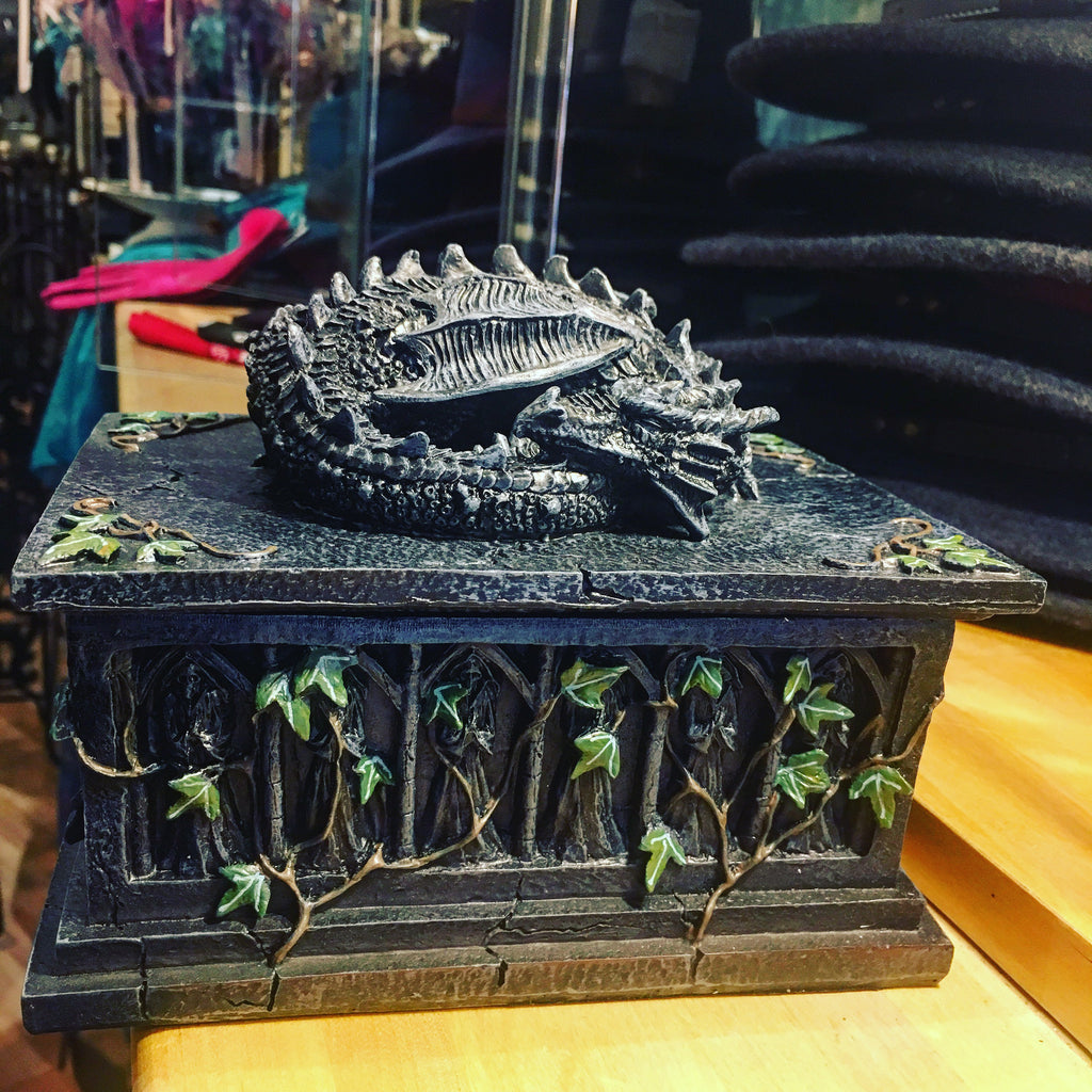 Sleeping Dragon Lidded Storage Box