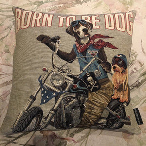 Born To Be Dog Cushion