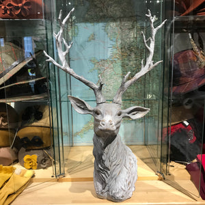 Grey Stag Bust