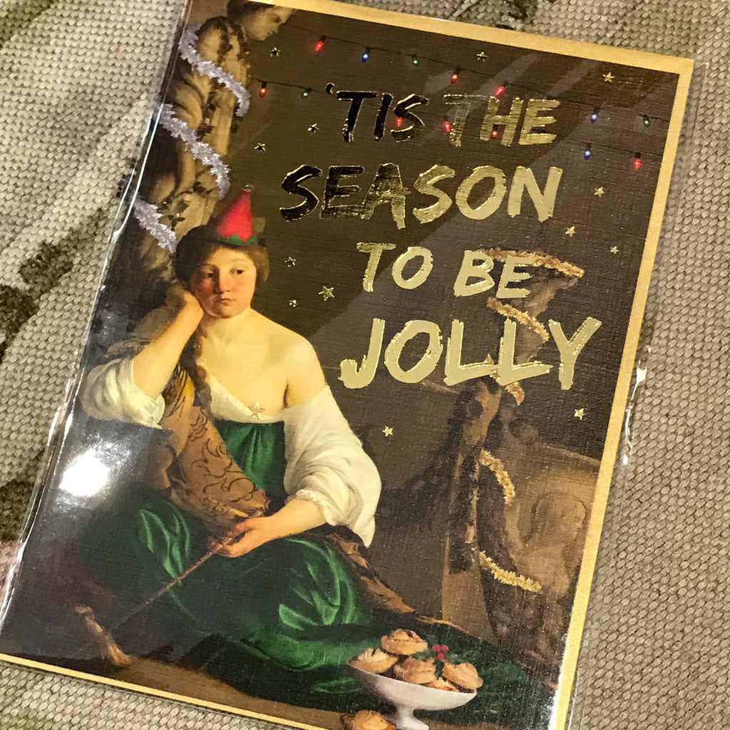 Card - 'Tis the season to be jolly