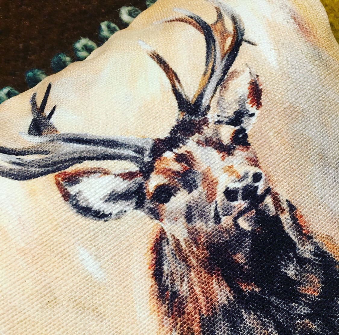 Cushion - Standing Stag