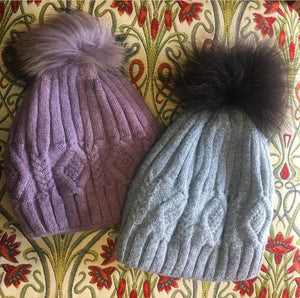 Bobble Hat with Pom Pom