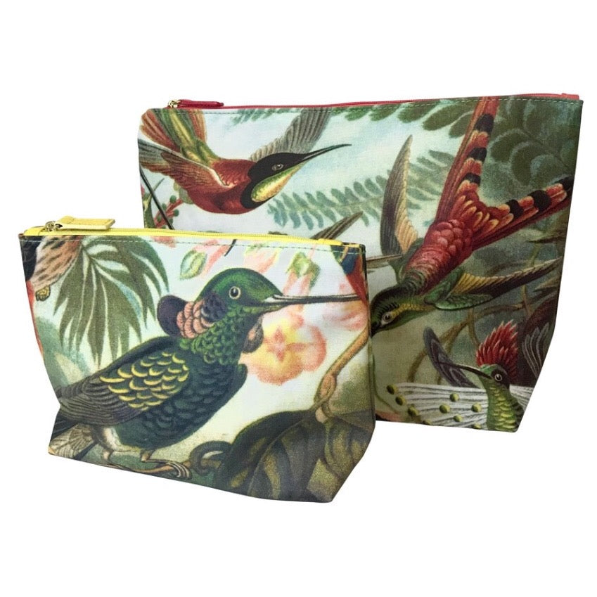 Humming bird Wash Bag