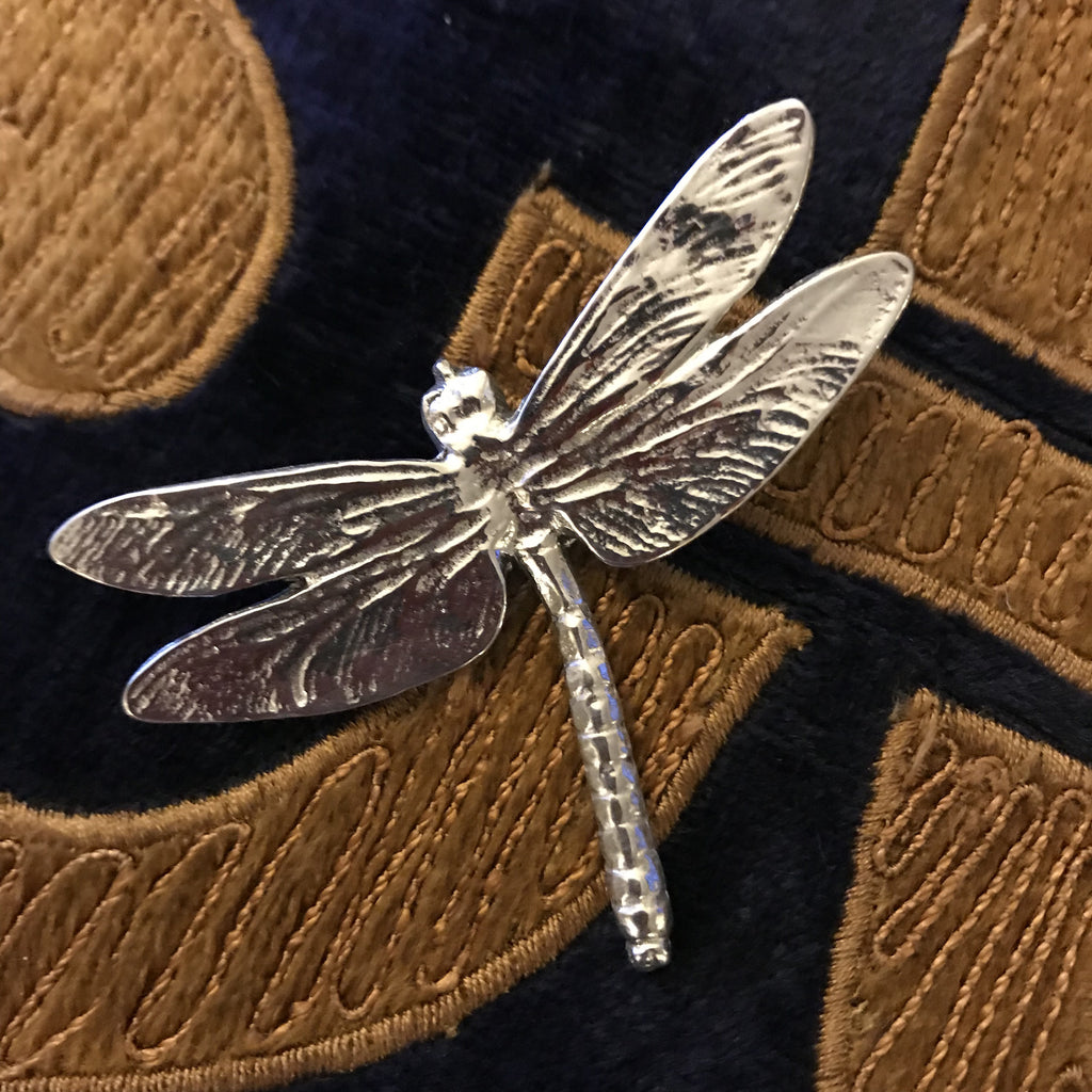 Pewter Small Dragonfly Brooch