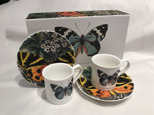 Butterfly Espresso Cups