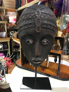 Tribal Mask on Stand