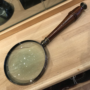 Mahogany Handled Magnifying Glass