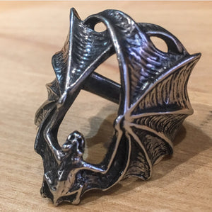 Stealth Pewter Ring