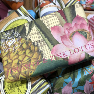 Soap pineapple and lotus