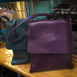 Italian Leather Across The Body Handbag