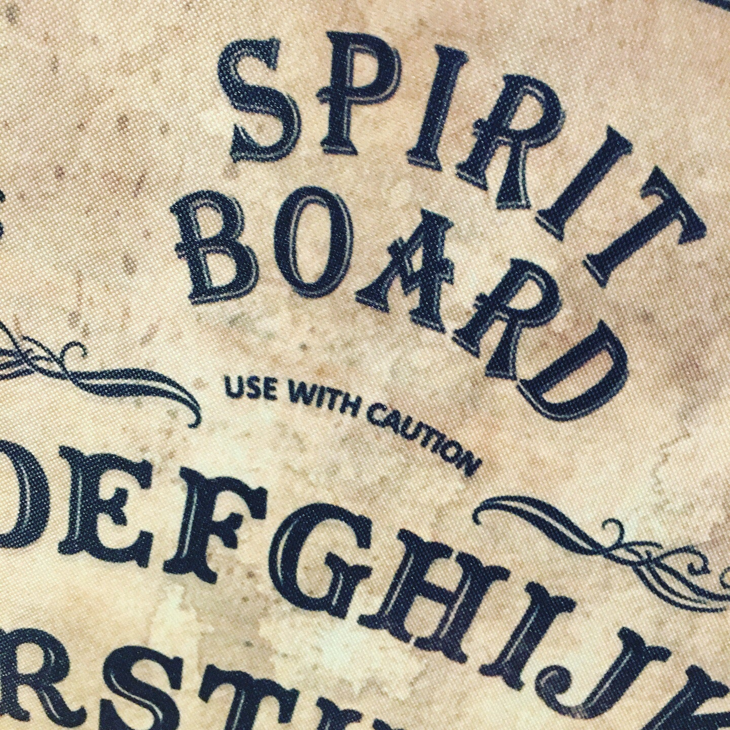 Square Spirit Ouija Board