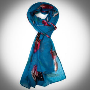 Thistle Scarf - Teal