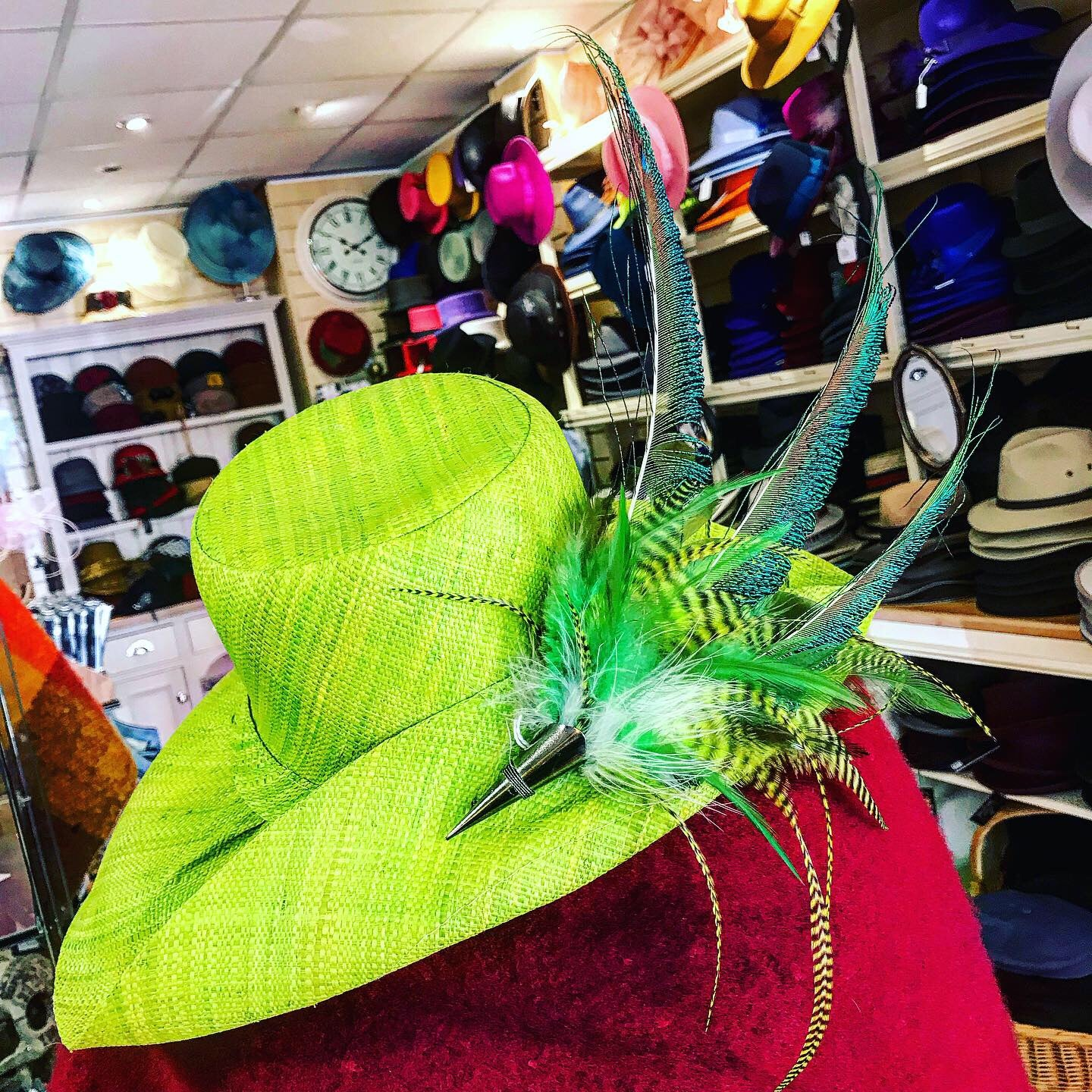 Wide Brimmed Raffia Summer Hat