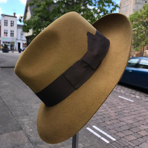 Wool Mayfair fedora hat