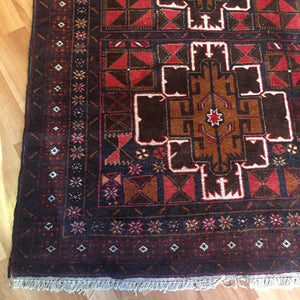 Rug - Brown/Black and Tan