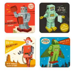 Robotique Set of 4 Coasters