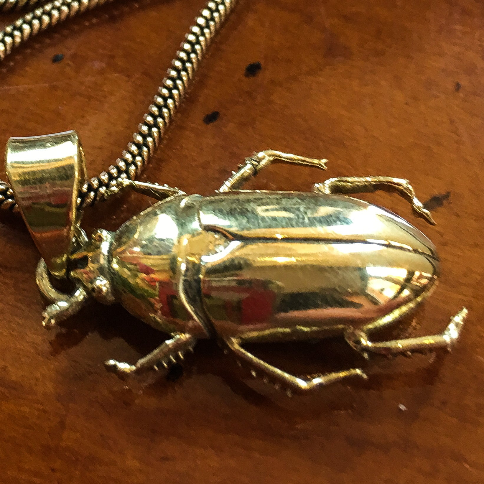 June Beetle Pendant