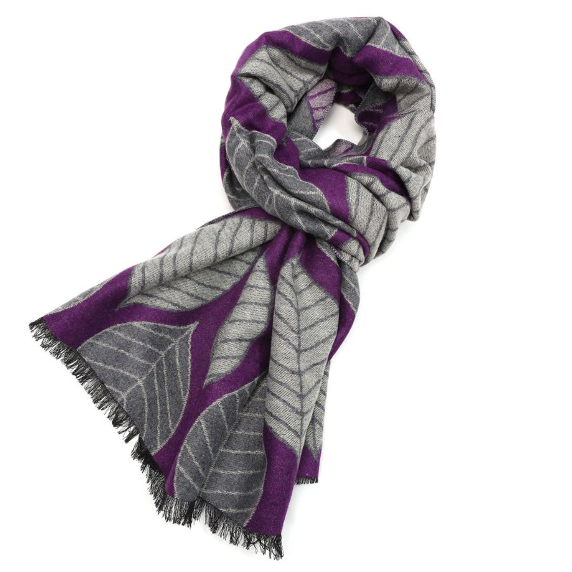 Scarf - Wrap - Terry Leaf